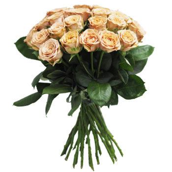 Букет кофейные розы Flowers Retail