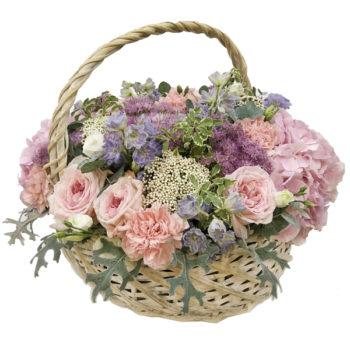 Заказать корзину из цветов