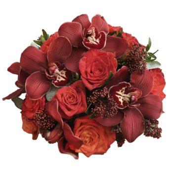 эксклюзивные букеты из живых цветов